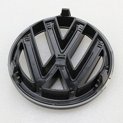 Front Grill Gloss Black Rear Trunk Lid Emblem for VW Jetta MK6 Badge Replacement
