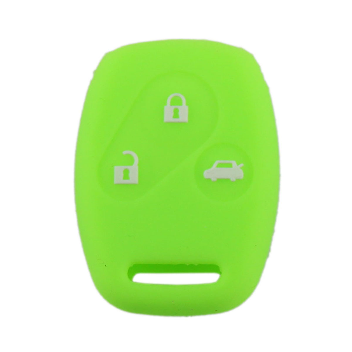 Silicone 3 Button Shell Remote Flip Key Case Fit For Honda With Logo