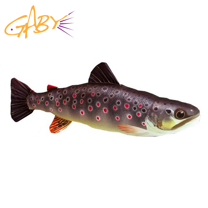 Gaby fish bivvy pillows carp pike perch salmon cod etc for Peluche carpe koi