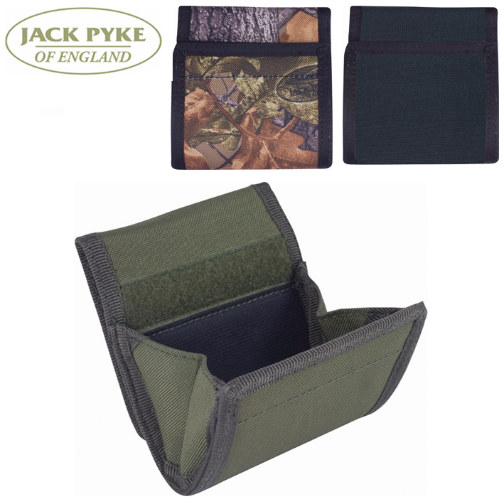 Jack Pyke Belt Loop Pellet Pouch in English Oak Camo, Olive Green, Black