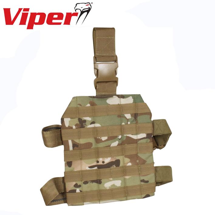 Viper Tactical Elite Drop Leg Platform MOLLE Webbing Airsoft Security Military