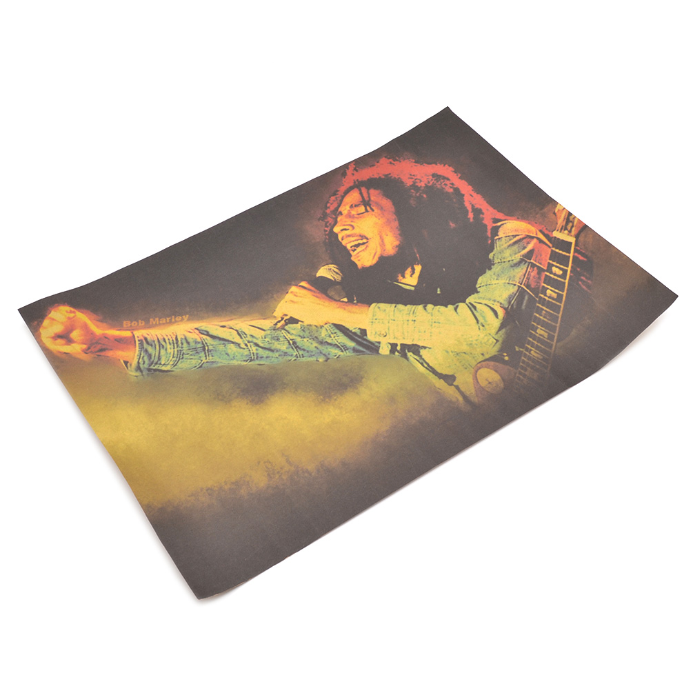 Retro Reggae Star Bob Marley Laugh Sing Music Posters Home
