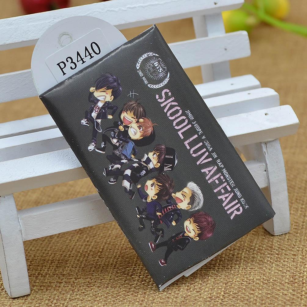 Anime One Piece SAO Kpop Star EXO BTS Travel Paper Soap Sheet Outdoor 15pcs