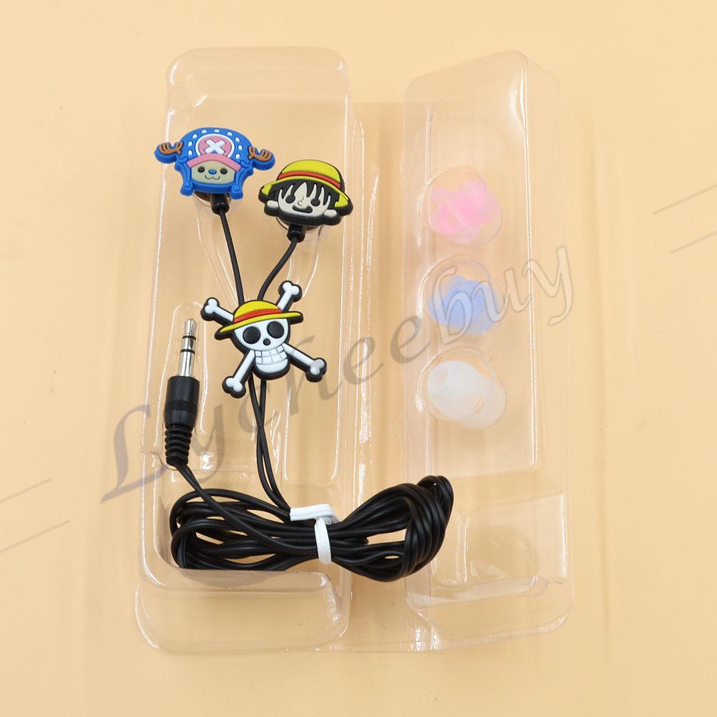 1 Pc New Japanese Anime Fairy Tail Hatsune Miku Cute Earphone Cosplay Music Gift