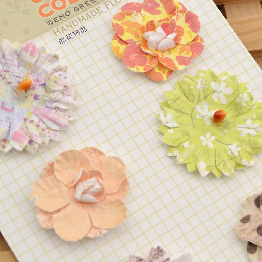 Мастер класс цветы из бумаги для скрапбукинга своими руками 40