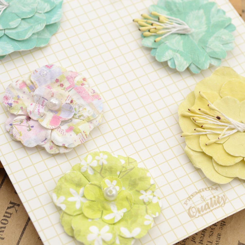 Мастер класс цветы из бумаги для скрапбукинга своими руками 23