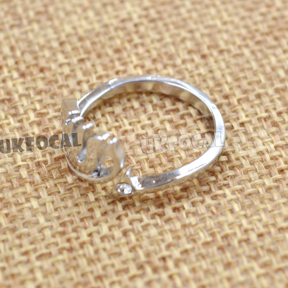 Anime Fairy Tail Cosplay Ring Vocaloid Hatsune Miku Finger Alloy Ring Adjustable
