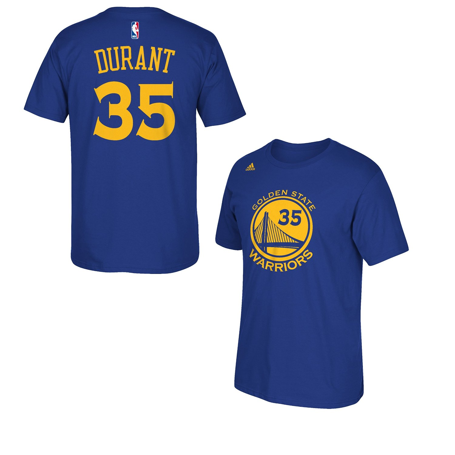 Golden State Warriors Kevin Durant Adidas Nba Player Men T