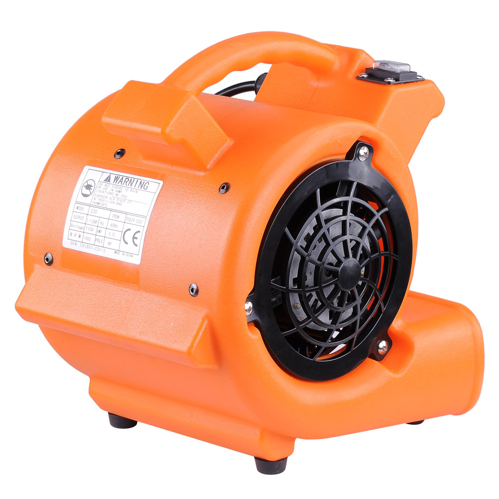 Floor Drying Fans : Commercial air mover blower carpet dryer cfm floor