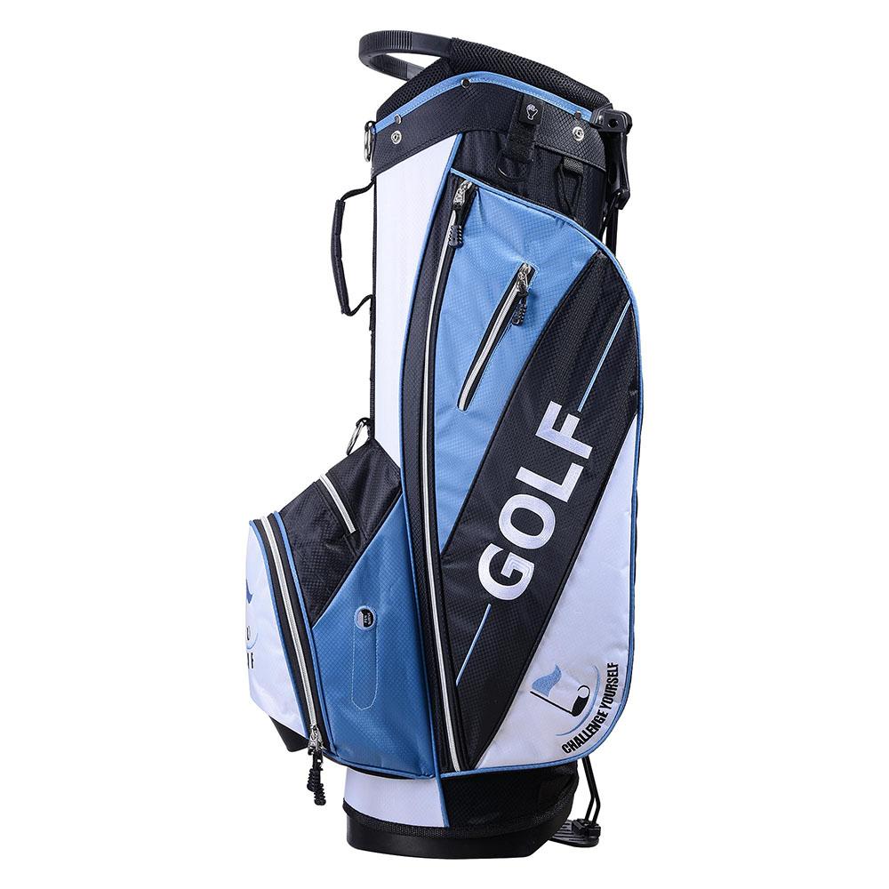 golf club lightweight stand carry cart bag 14 way divider. Black Bedroom Furniture Sets. Home Design Ideas