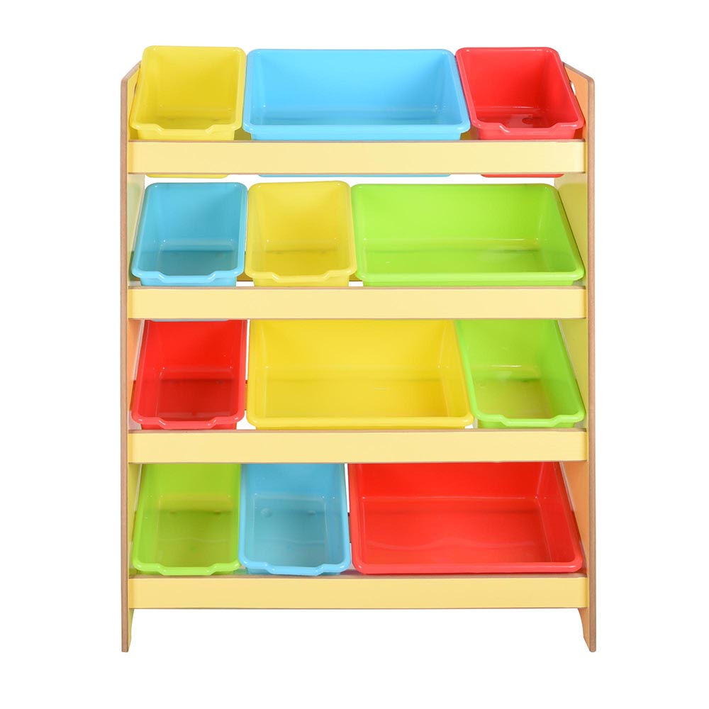 Toys Storage Children Kids Shelf Rack Plastic Boxes Tubs