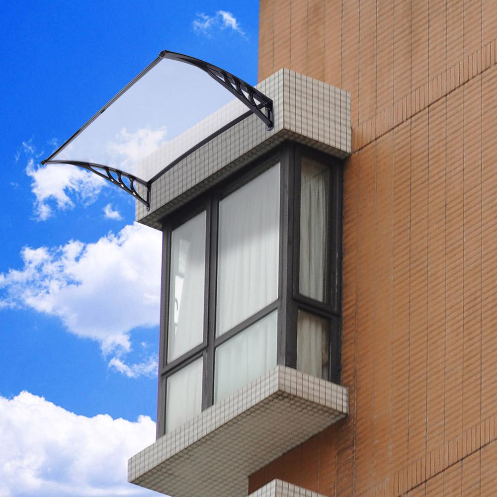 Window Canopy Awnings : Window door canopy awning sun shade hollow sheet garden