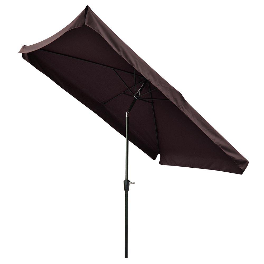 2x3m outdoor patio umbrella sunshade garden cafe beach. Black Bedroom Furniture Sets. Home Design Ideas