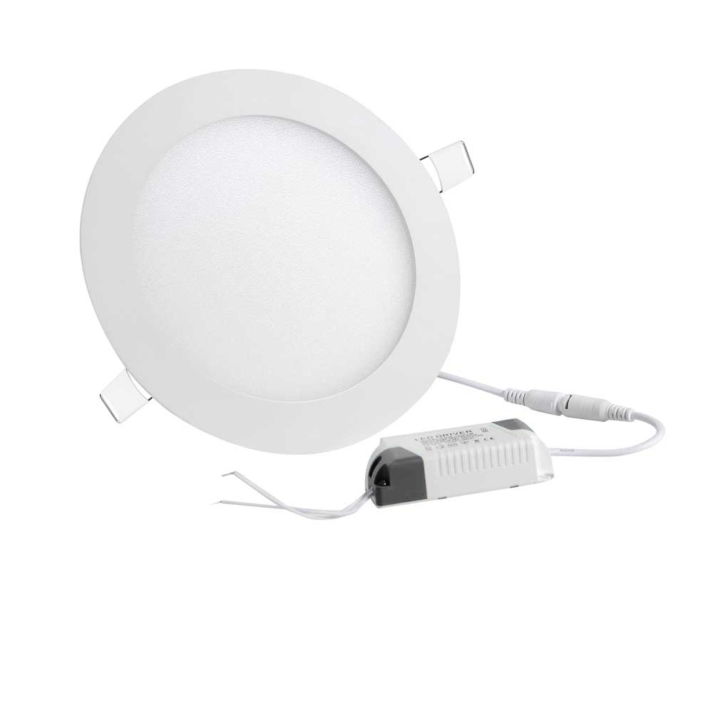 9 12 18w Led Round Recessed Ceiling Flat Panel Down Light