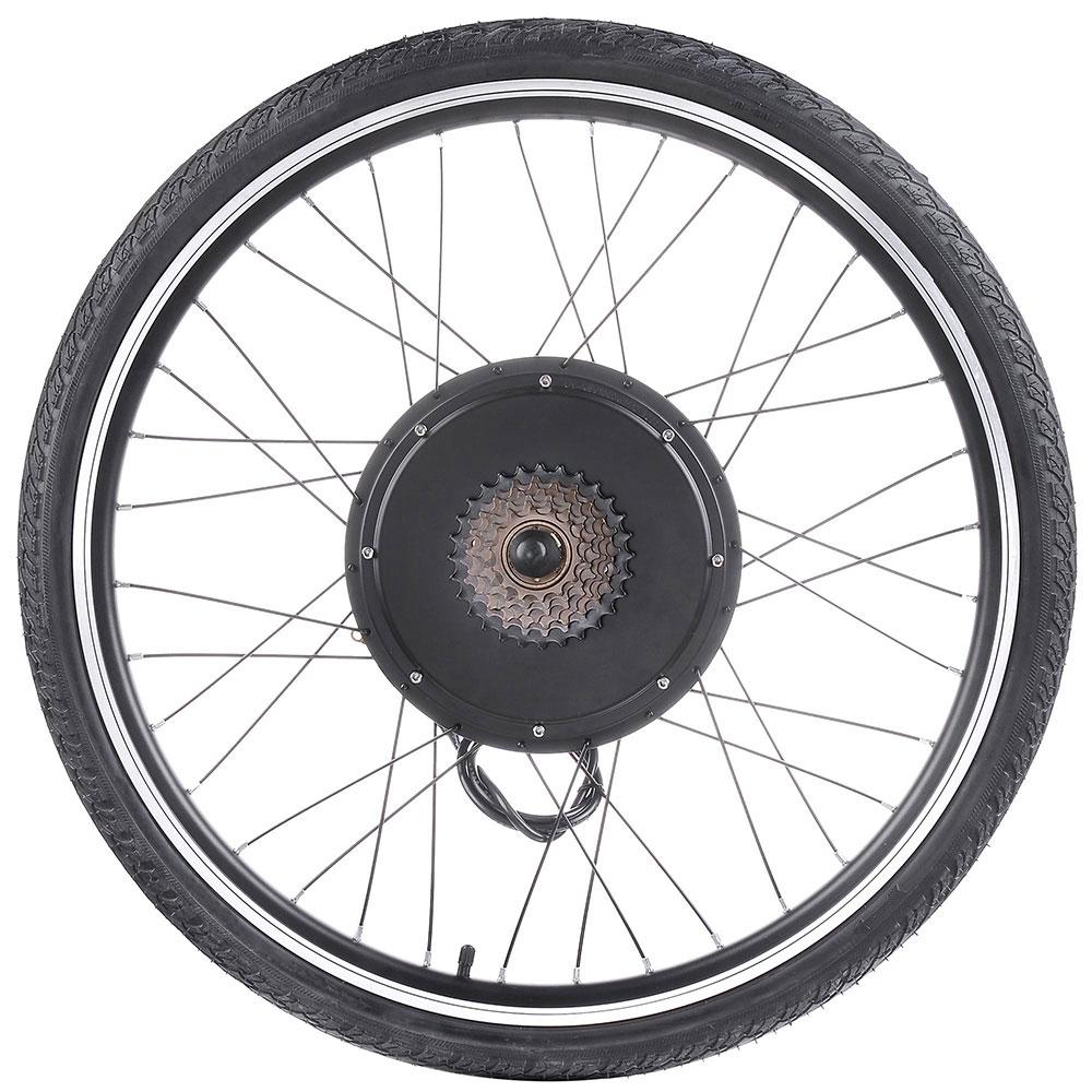 """26/"""" Electric Bicycle Motor Conversion Kit Front Rear Wheel E Bike Hub 500W 1000W"""