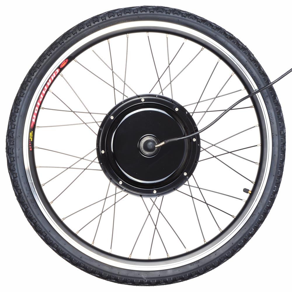 26 front rear wheel electric bicycle motor kit e bike for Electric bike rear hub motor