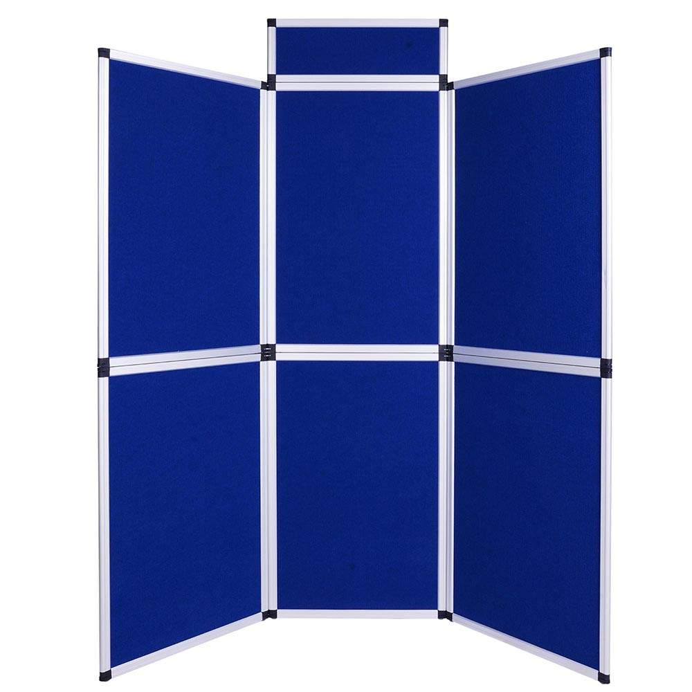 Exhibition Stand Boards : Folding flanne lette panel display boards stand aluminum