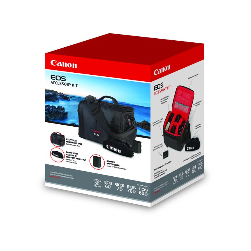 canon 70d 7d 6d 60d 5d mark iii accessory kit 700sr bag lp. Black Bedroom Furniture Sets. Home Design Ideas