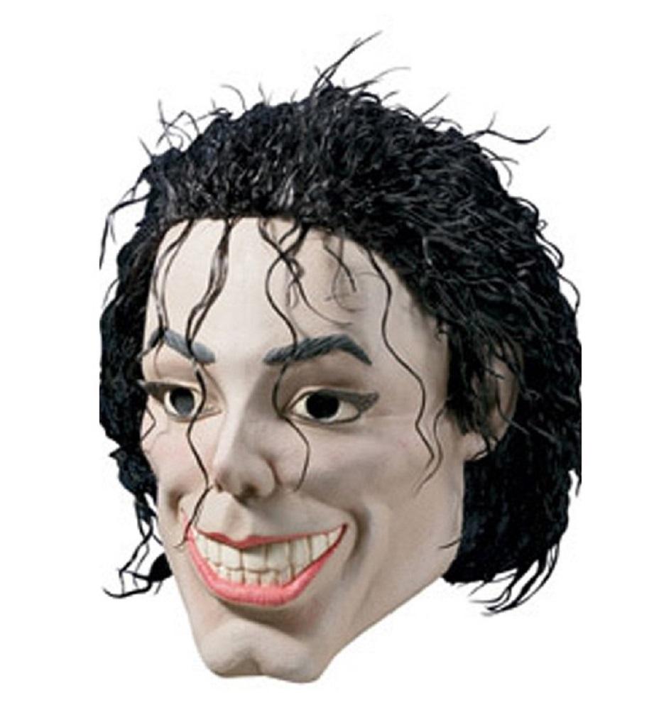 Plastic Man Michael Jackson King Of Pop Vinyl Mask Halloween ...