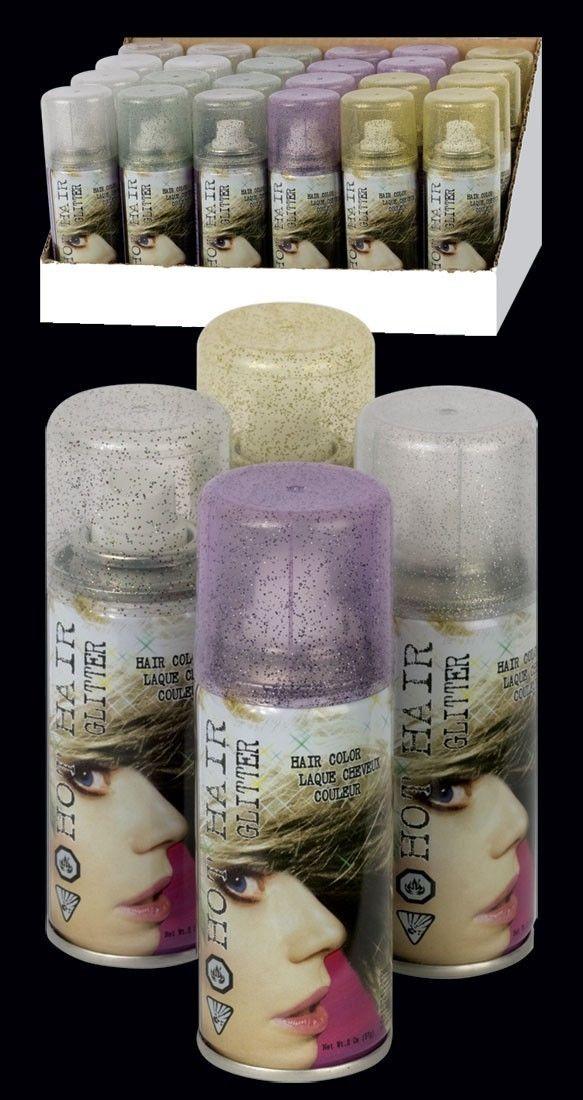 temporary glitter hair color spray hairspray halloween. Black Bedroom Furniture Sets. Home Design Ideas