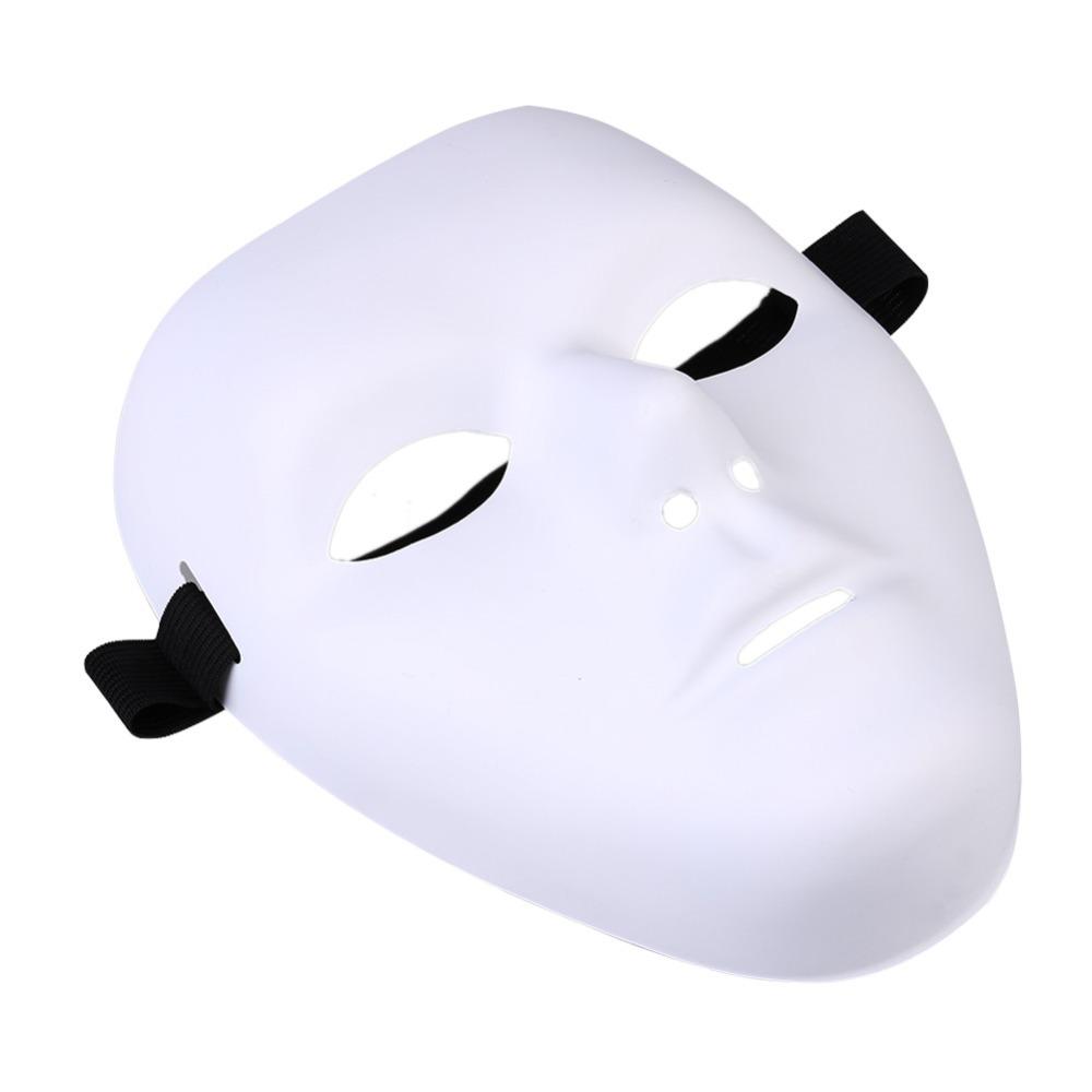 Thick Purge Blank Male The Phantom Jabbawockeez Dance White Mask ...