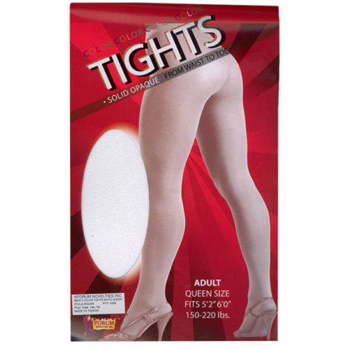 Standard Plus Tights Pantyhose Stockings Adult Womens Costume Accessory NEW
