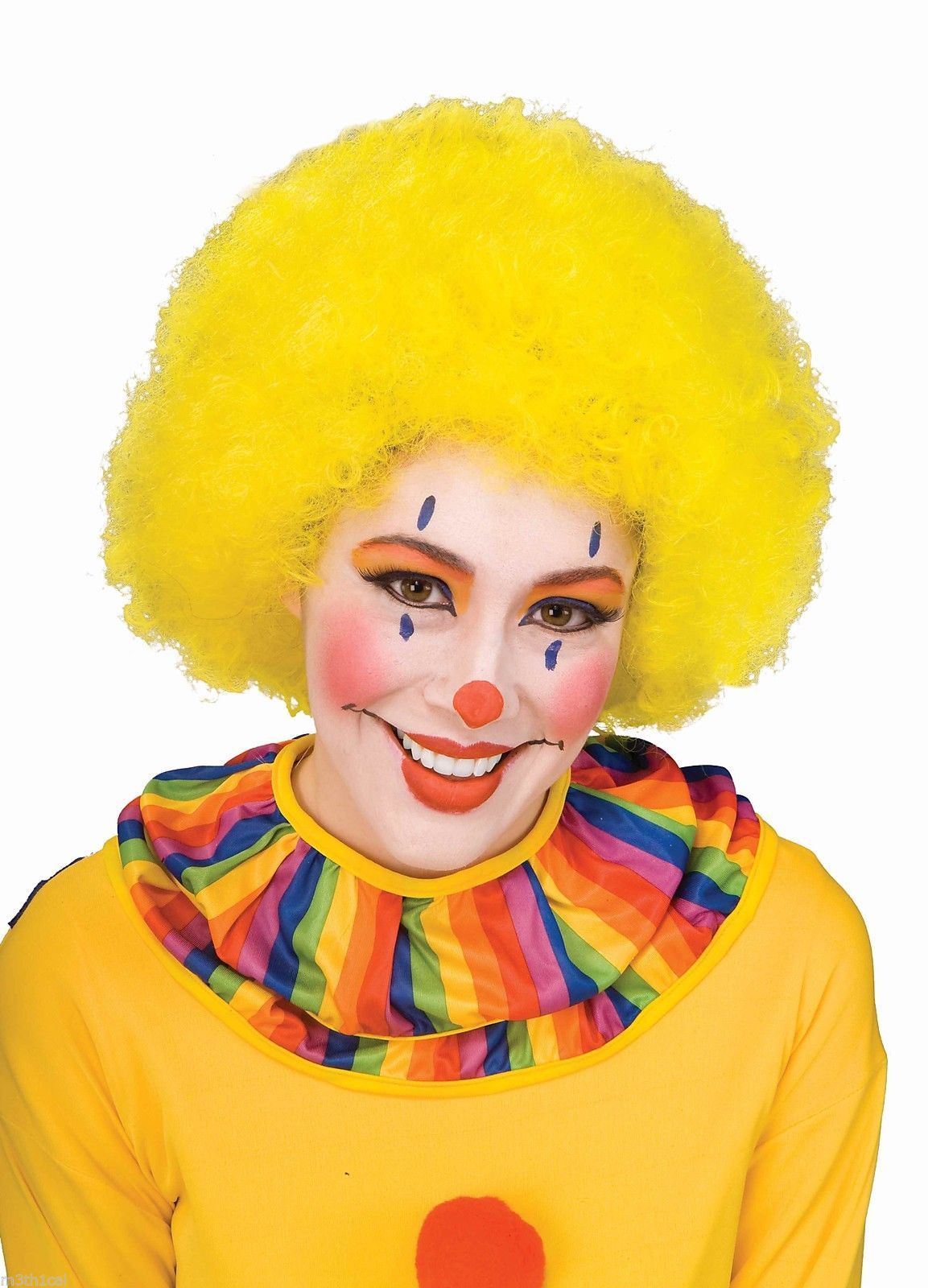 Clown Costumes Accessories Wigs Shoes Makeup Adult Afro