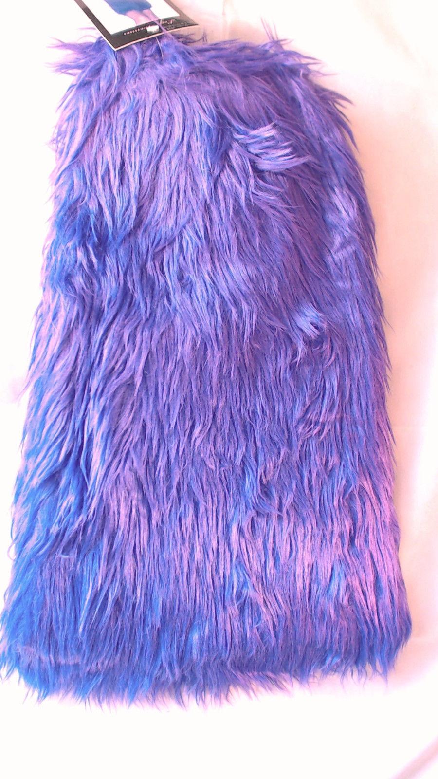 Furry 80u0026#39;s Neon Rave Fuzzy Clubwear Leg Warmers Leg Avenue Costume Accessory NEW | EBay