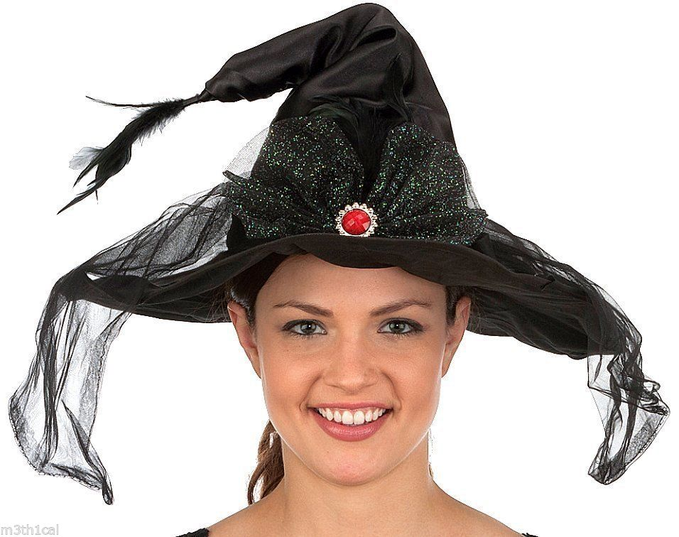 womens witch black hat animated movingmuscial