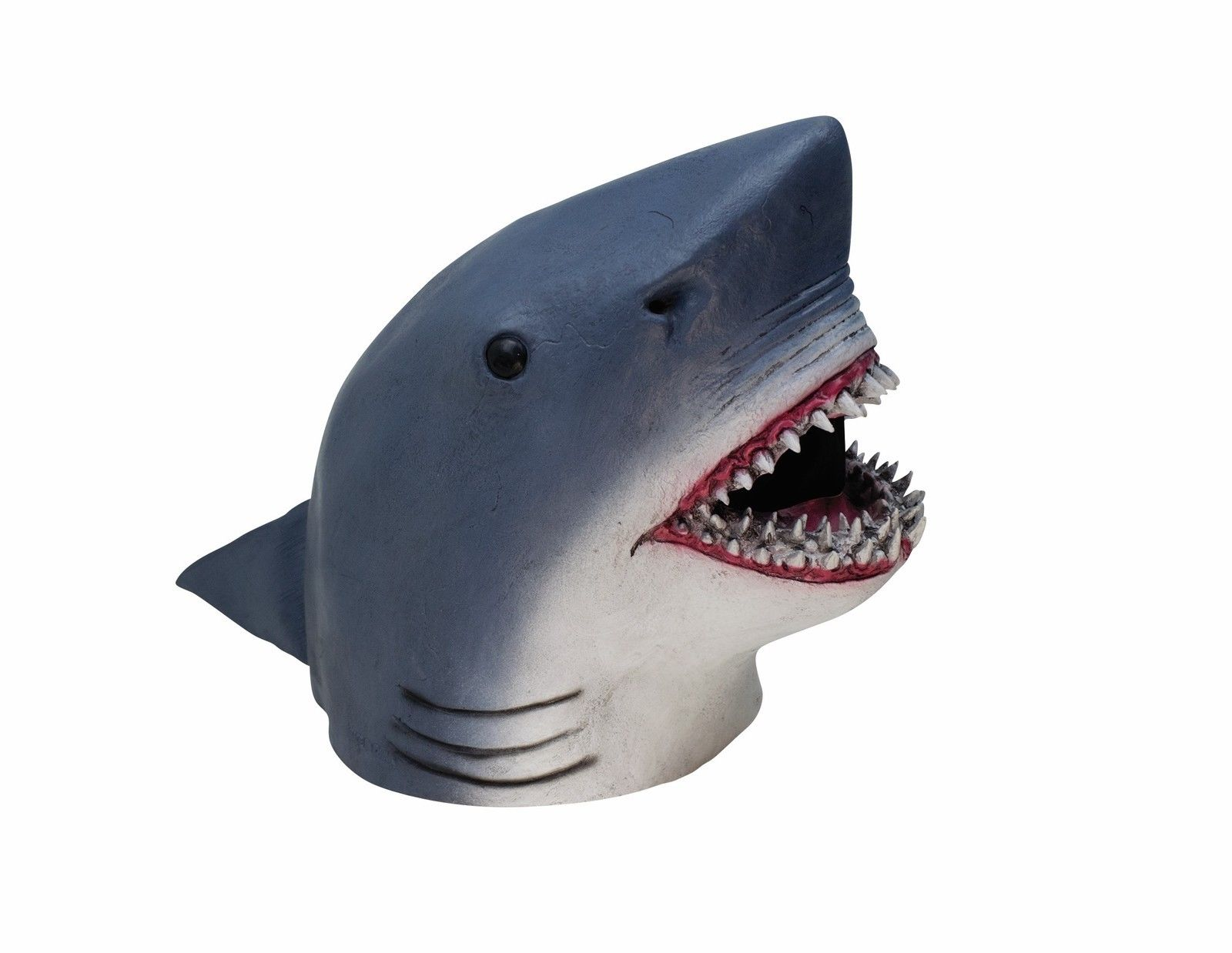 adult shark head week mask latex ocean animal halloween costume accessory jaws - Halloween Costume Shark