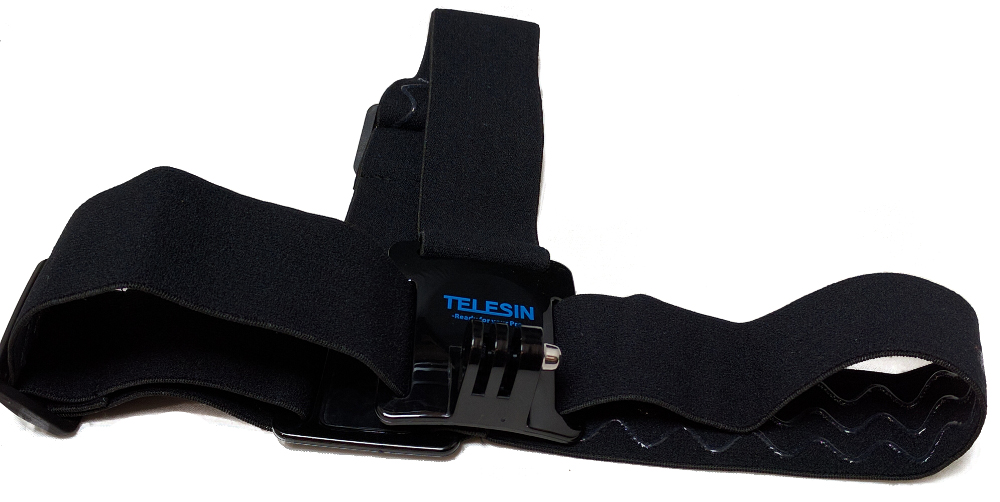 Telesin action cam headband strap camera mount