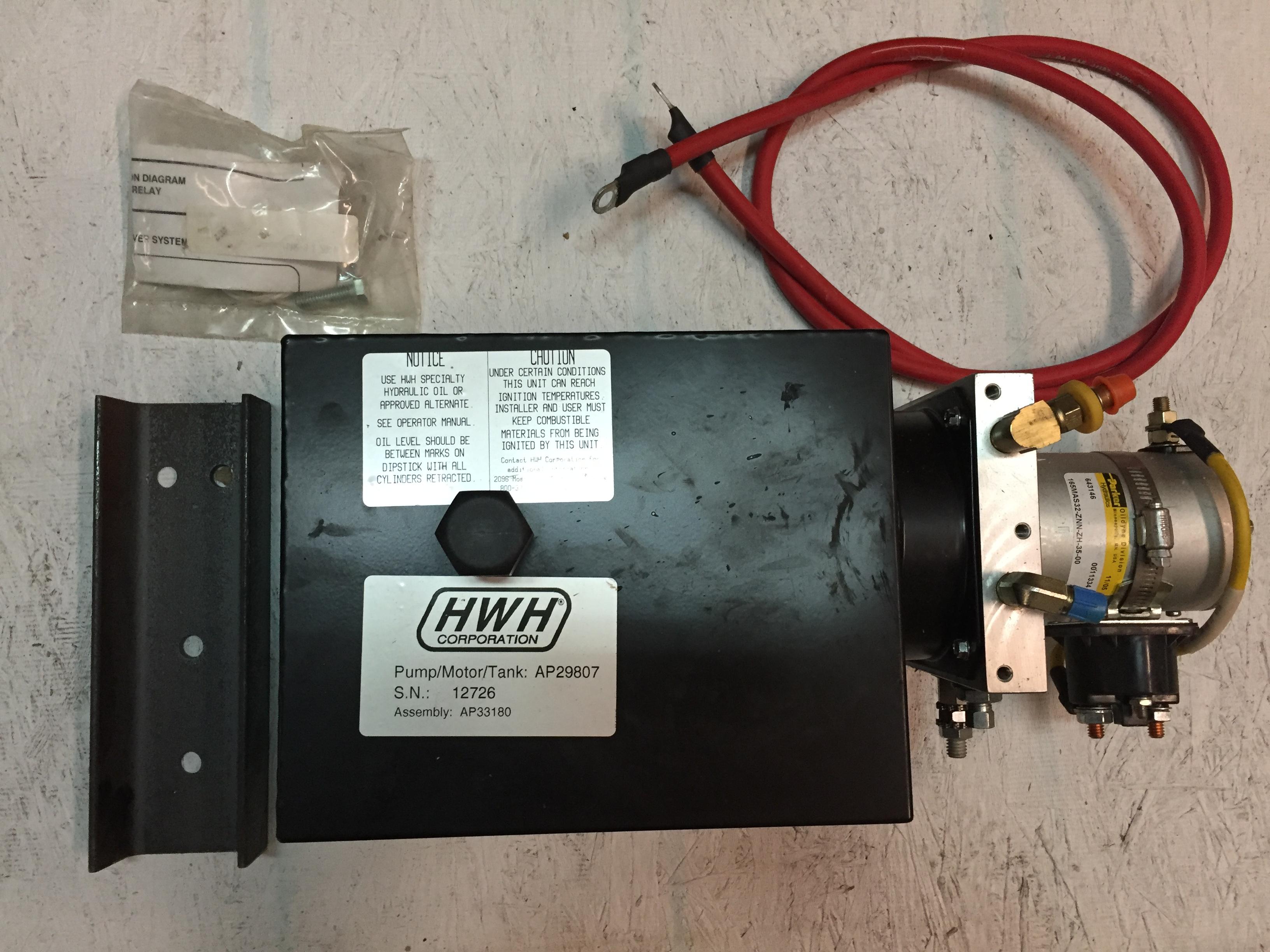 Hwh Ap29807 Hydraulic Pump Motor Tank With Ap33180