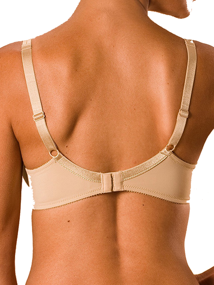 Details about  /Chantelle Basic Invisible Bra T Shirt C12410 Seamless Underwired Padded Cups