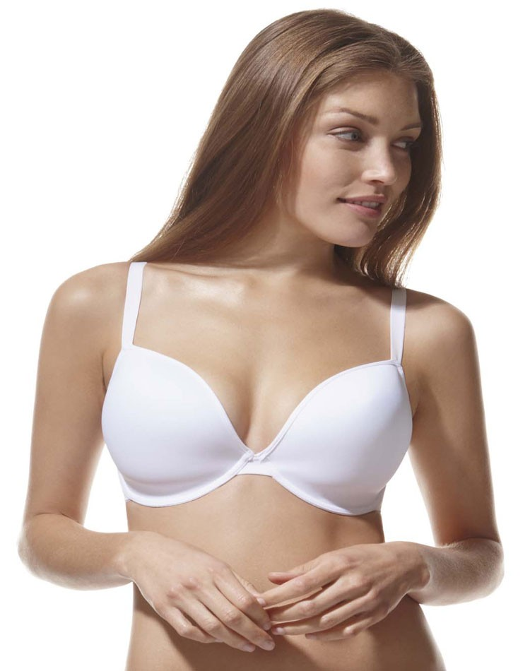 Panache-3371-Porcelain-Underwired-Plunge-Smooth-Moulded-Padded-T-Shirt