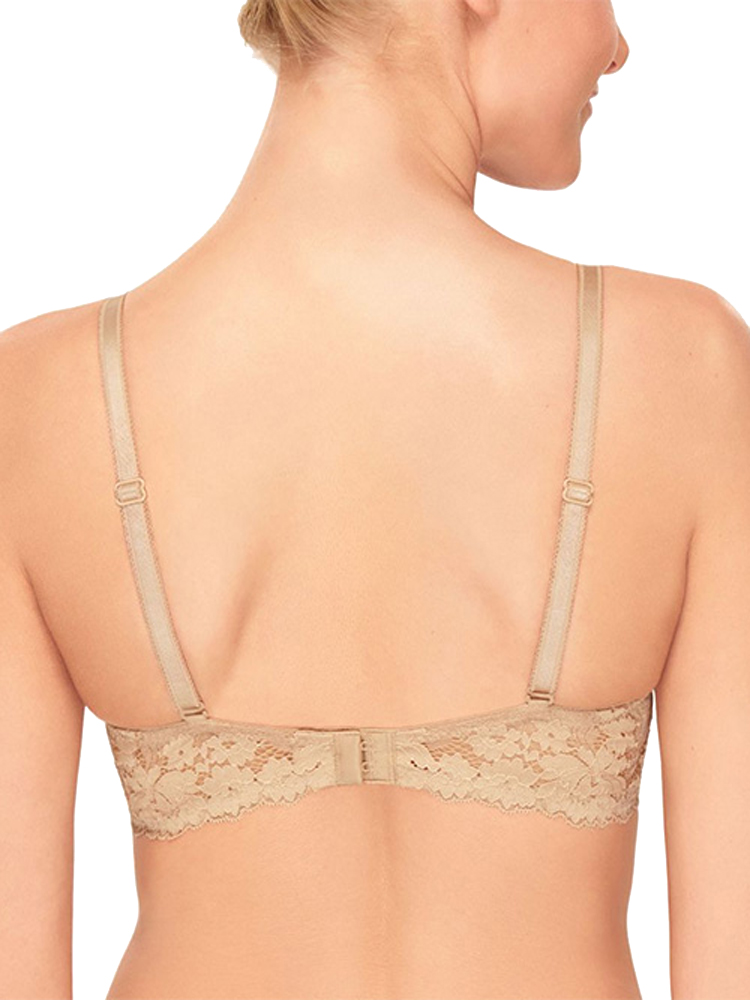 b.tempt/'d by Wacoal Insta Ready Bra Plunge 953229 Underwired Padded Lace
