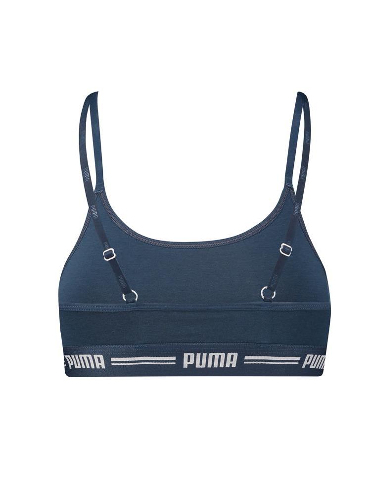Puma iconica Casual Bralette 584012001 non cablato Morbido Cotone Coppa Reggiseno Top