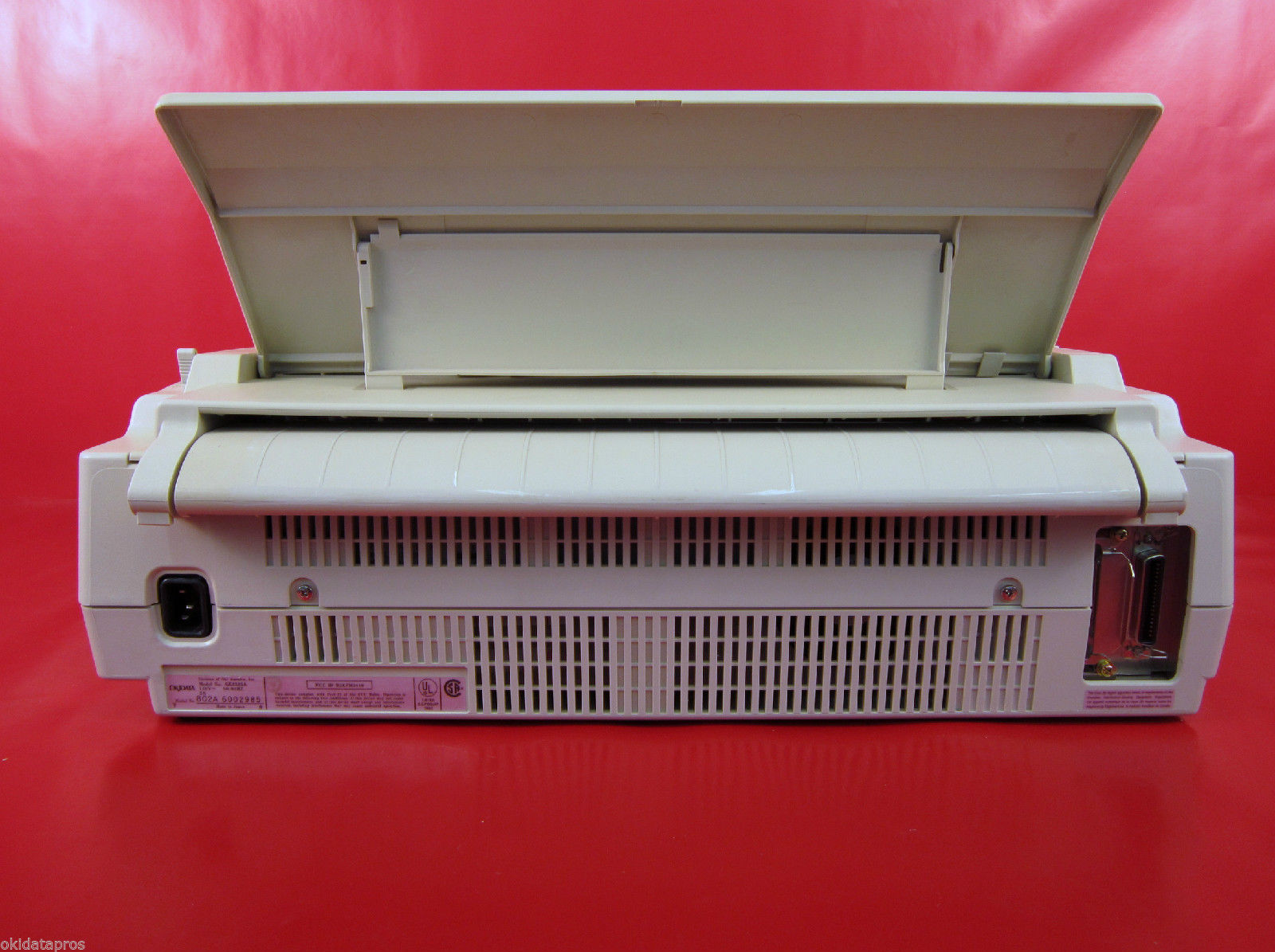 okidata pacemark 3410 parallel serial printer oki pm3410