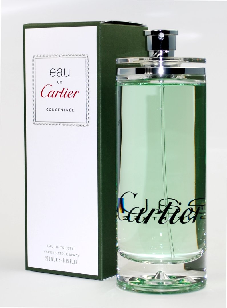eau de cartier concentree by cartier eau de toilette 6 7 fl oz 200ml 29493887066 ebay. Black Bedroom Furniture Sets. Home Design Ideas