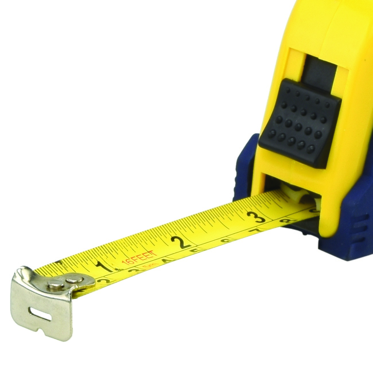 measuring tape 16 39 ft x 3 4 inch pause function button lock sae mm contractor. Black Bedroom Furniture Sets. Home Design Ideas