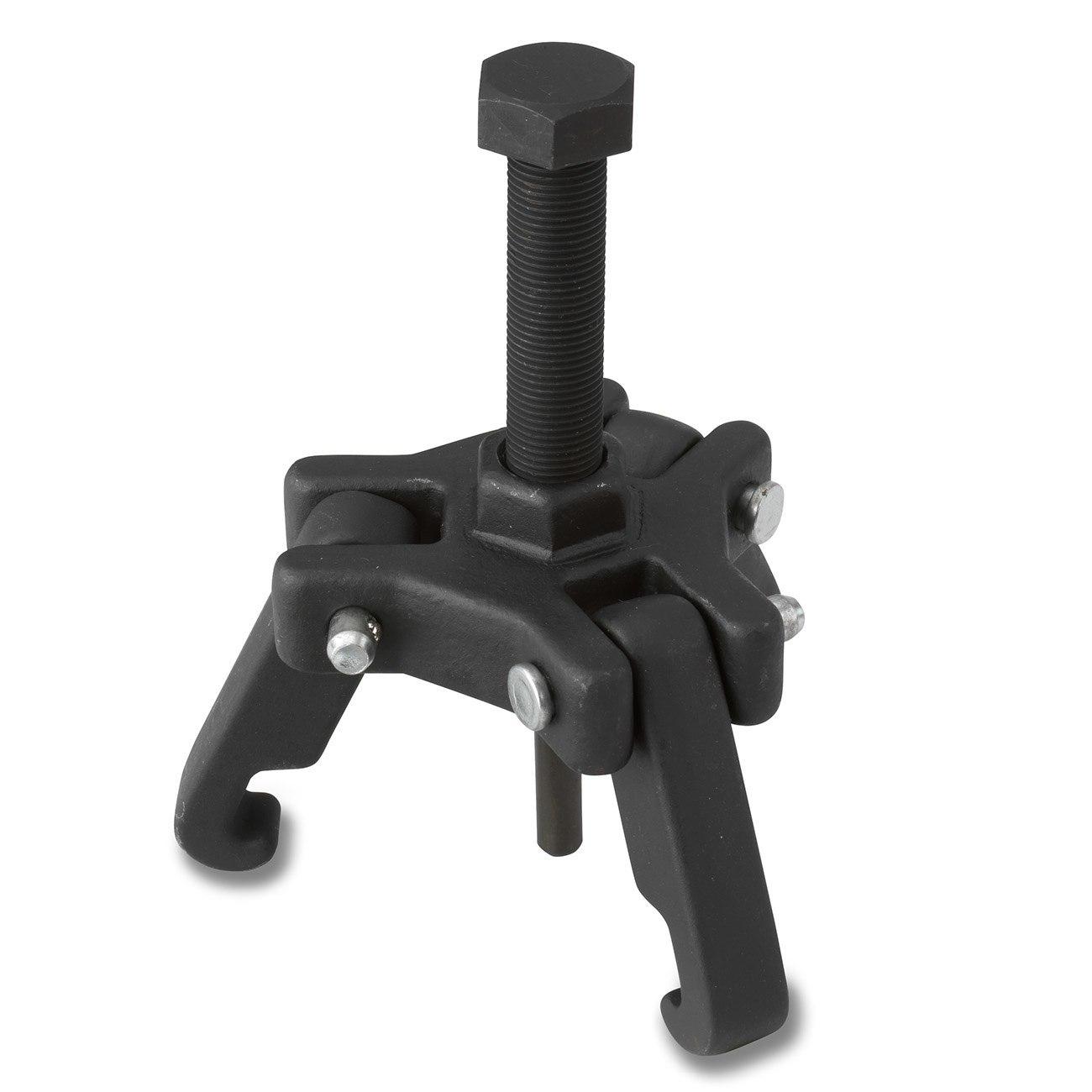 3 Jaw Steering Wheel Puller : Harmonic damper balancer puller holding steering wheel