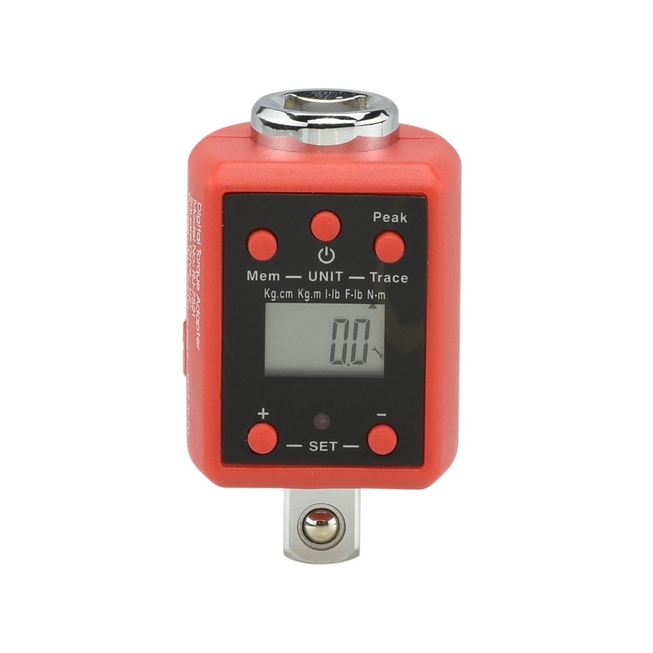 "Digital Torque Adapters 1/2"" inch Drive Socket Multi Setting LED"