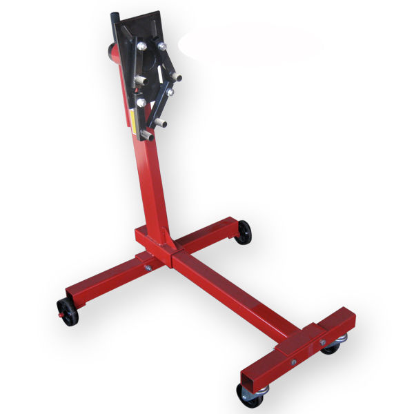 1000 Lb Engine Stand Automotive Motor Dolly Hoist Mover