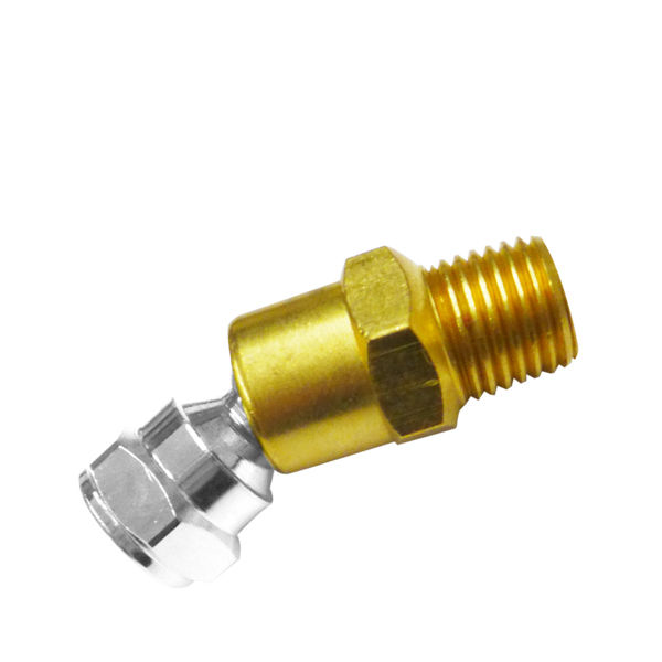 NPT Swivel Ball Joint For Air Hose Tool Solid Brass Swivel Joint