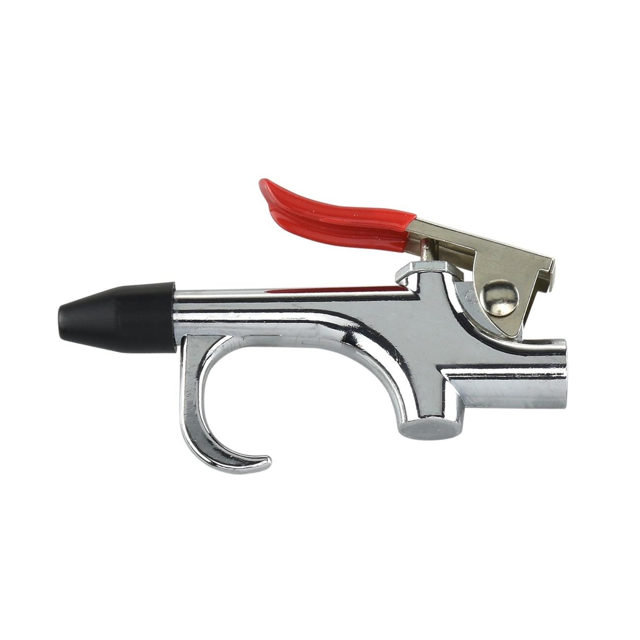 Air Blower Gun : Pc air compressor blow gun tool kit nozzles inflation