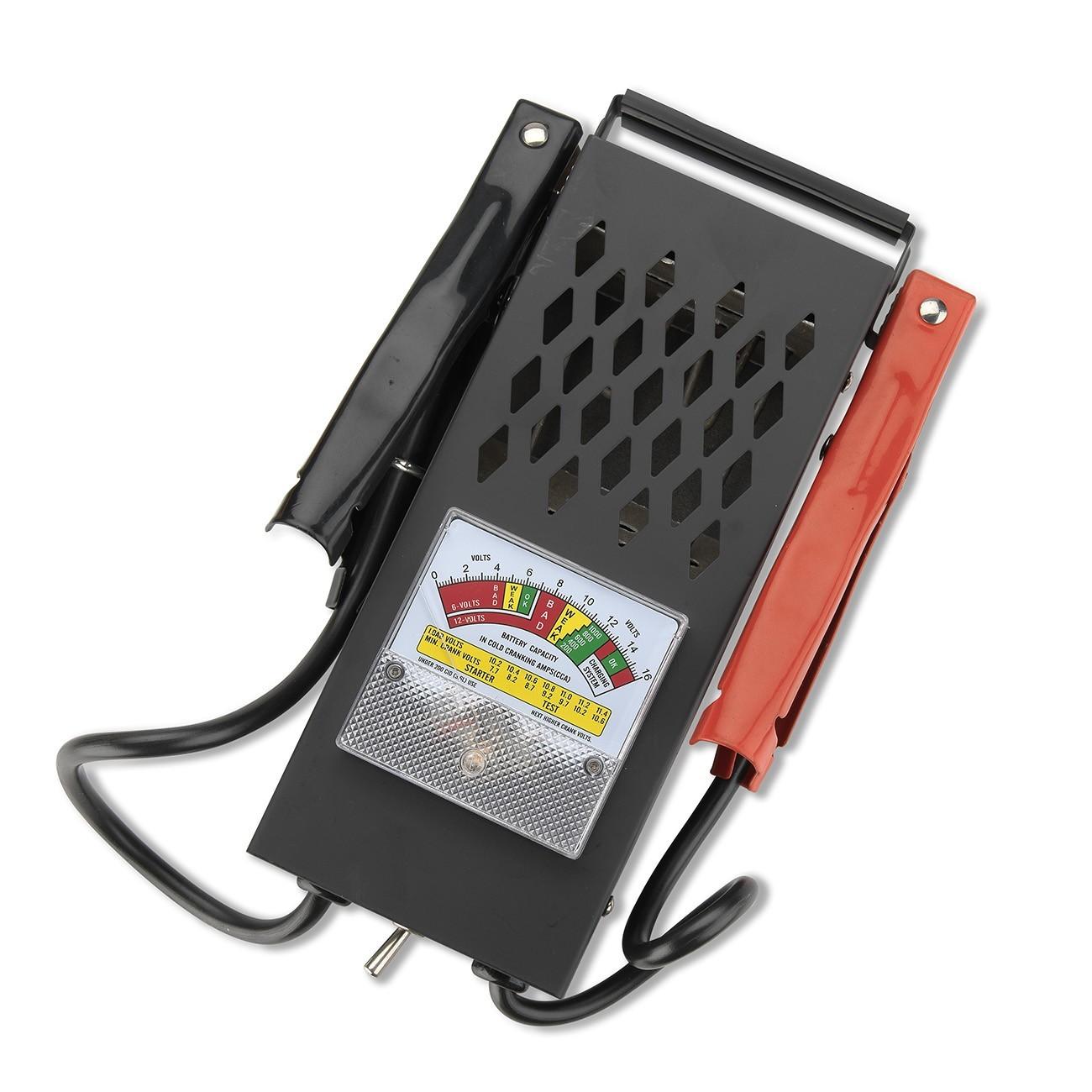 12 Volt Battery Tester : Portable battery load tester v diagnostic charging