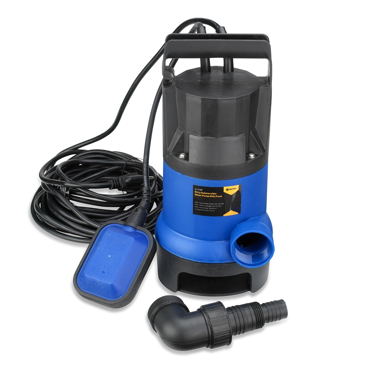 Submersible Water Pump 1 2 Hp 2000gph Clean Clear Dirty Pool Pond Flood Drain Ebay