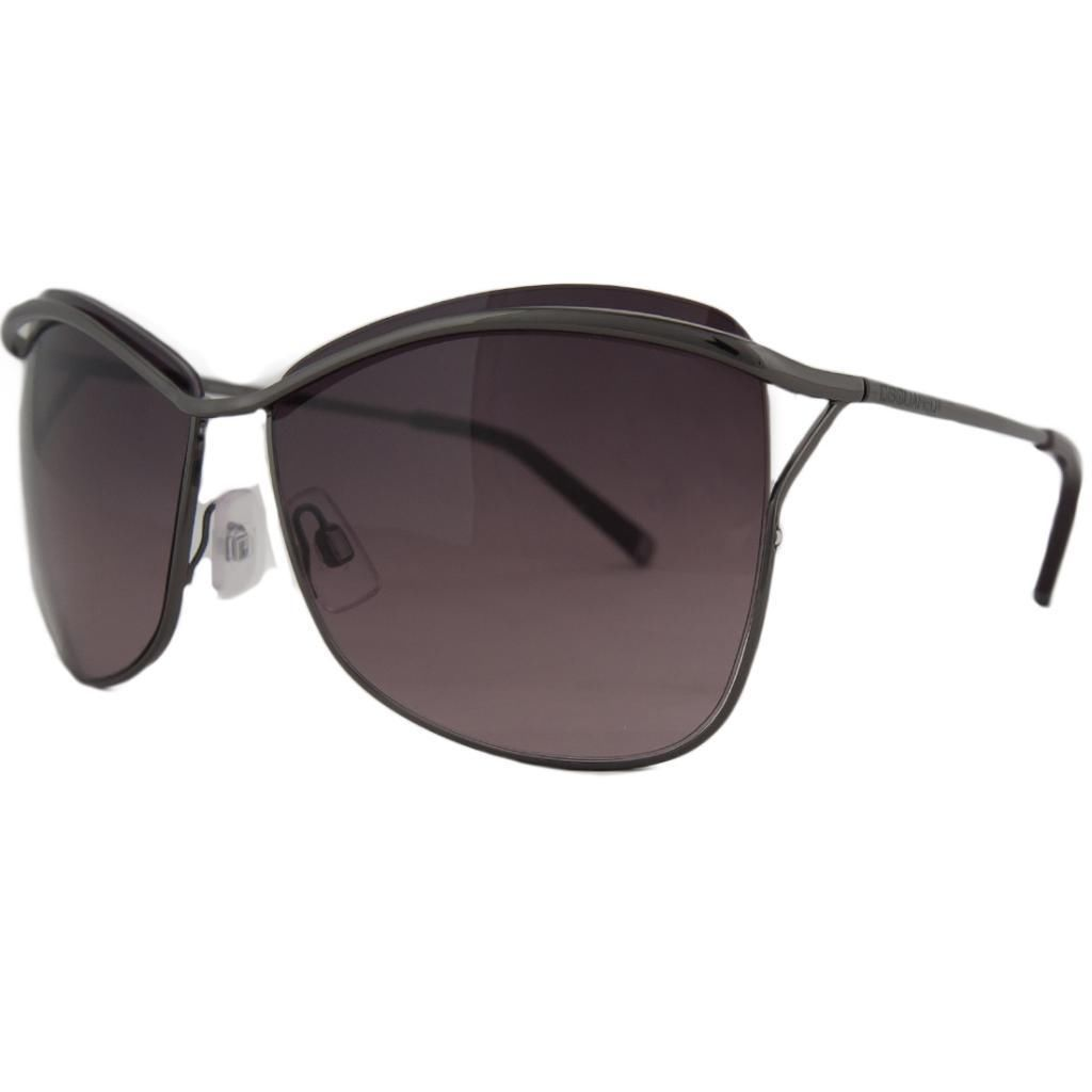 DSquared DQ 0091 08Z Gunmetal Square Full Rim Sunglasses