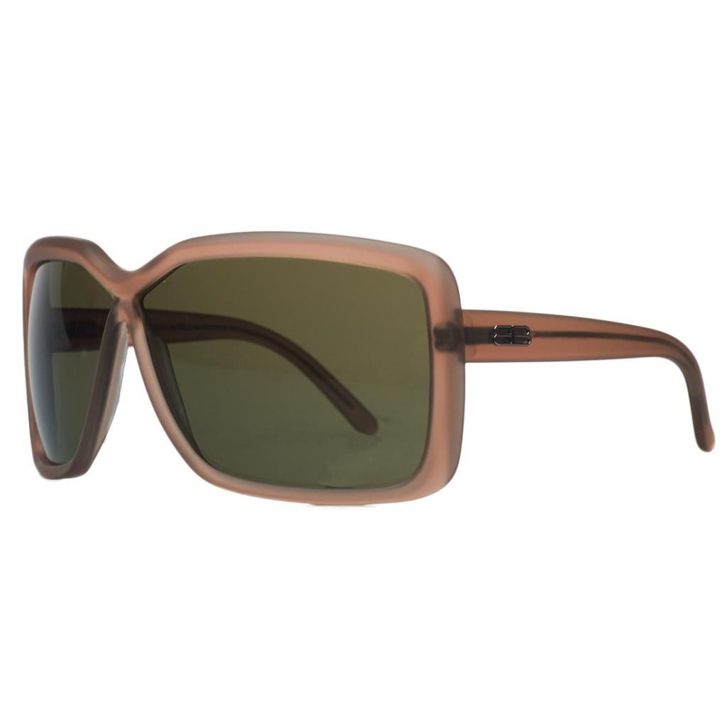 Balenciaga BAL 0124/S 54P Transparent Rust Oversized Sunglasses