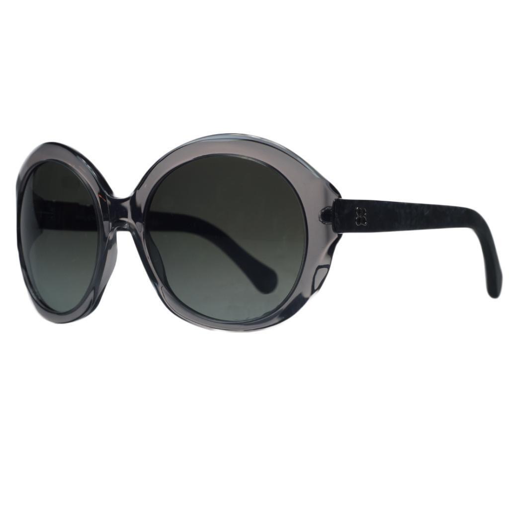 Balenciaga BAL 0123/S 04E Grey Marble Round  Sunglasses