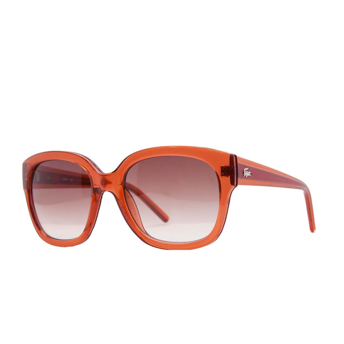 Lacoste L 698S 630 Sangria Red Square Sunglasses